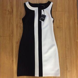 DKNY Scuba Sheath Dress